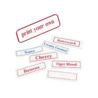 mylar printable labels