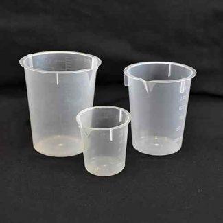 measuring beakers